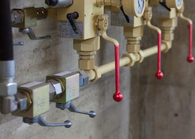 hand-operated valves