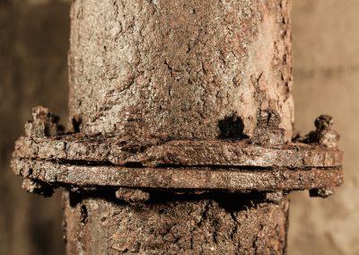 rusty penstock